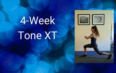 4-Week Tone XT (Intermediate+)