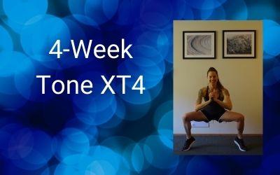 4-Week Tone XT4 (Intermediate+)