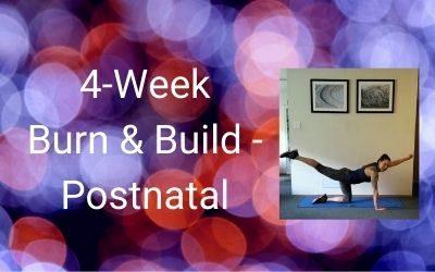 4-Week Burn & Build (Postnatal)