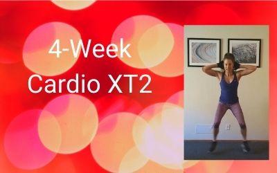 4-Week Cardio XT2 (Intermediate+)