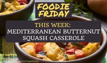 Mediterranean Butternut Squash Casserole