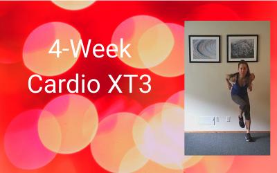 4-Week Cardio XT3 (Intermediate+)